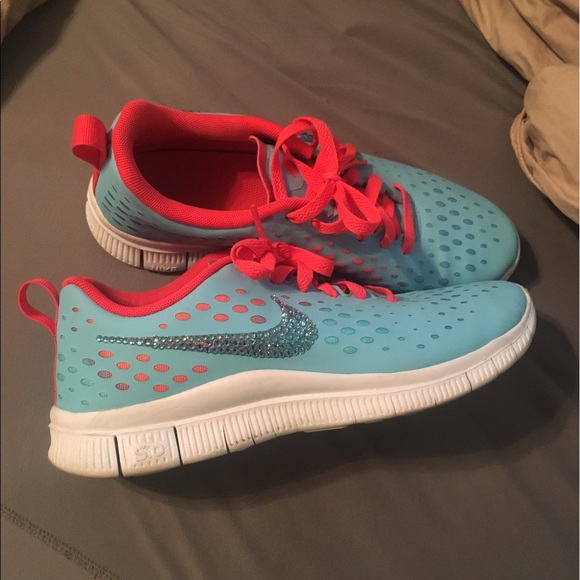 best sneakers 8337f f05b1 Nike Swarovski rhinestone sneakers
