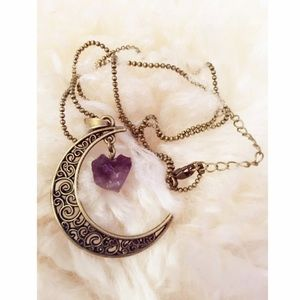 Jewelry - New Dreamer Crescent Moon Necklace Pendant