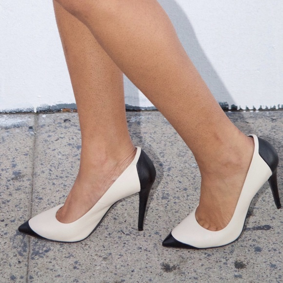Narciso Rodriguez Shoes - Gorgeous Narcisco Rodriguez Two Tone Pumps