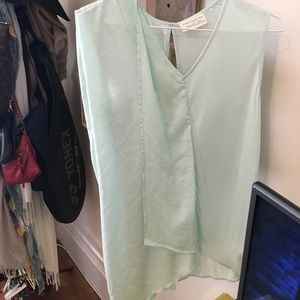 Zara Mint Green Tunic