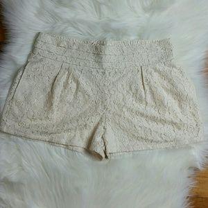 ASOS Hazel Brand Lace Shorts