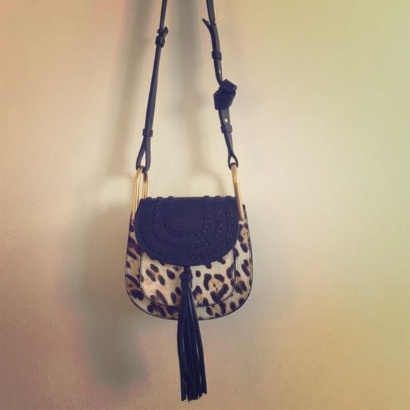 90d8ee0ada8 Chloé Bags | Leopard Chlo Hudson Shoulder Bag | Poshmark
