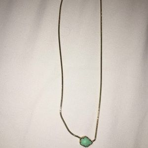 Kendra Scott Mara Necklace in mint