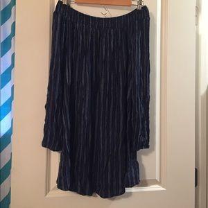 Dresses & Skirts - Blue off the shoulder dress worn once!