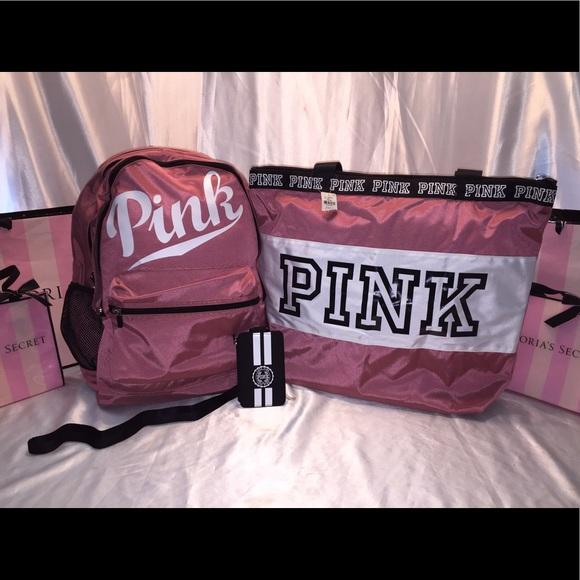 Victoria Secret Pink Travel Bags
