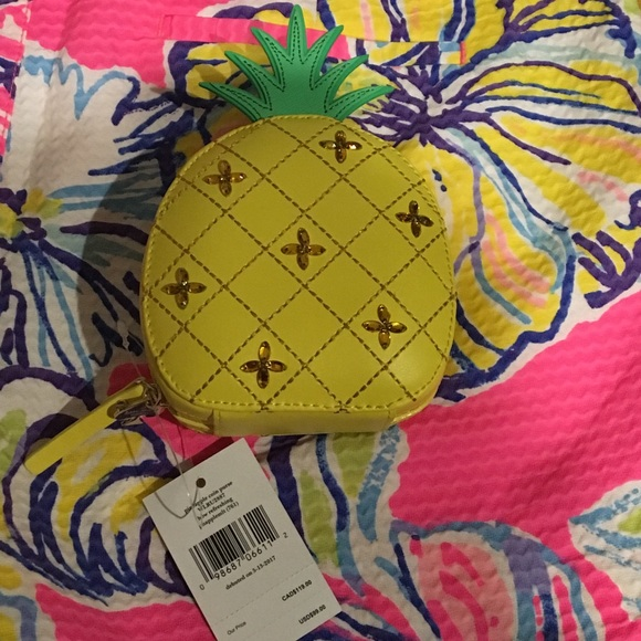 d7d9df9bd52d kate spade Bags | Nwt Pineapple Coin Purse | Poshmark