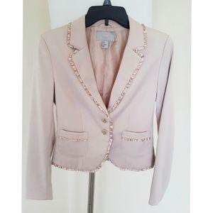 H&M Beige 2 Button Blazer size 6