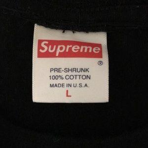 Supreme Shirts - Supreme x kaws box logo black