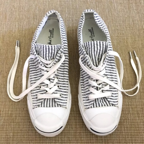 39a5c5408026 Converse Shoes - Jack Purcell Converse Seersucker Striped Sneakers