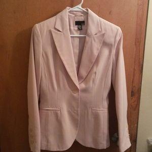 Millennial pink blush Blazer