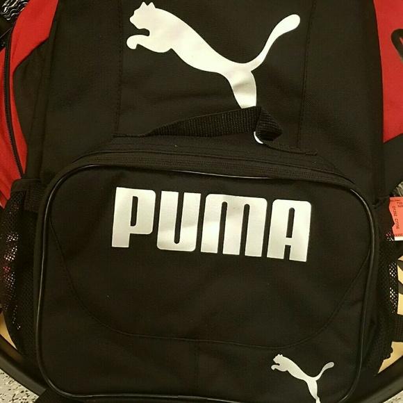 Puma backpack and lunch box a21b133e90a34