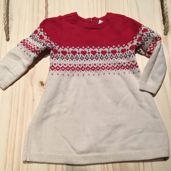 72% off GAP Other - Worn once baby gap fair isle sweater dress ...