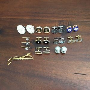 Other - Assorted Vintage Cufflinks / Tie clip  Bundle