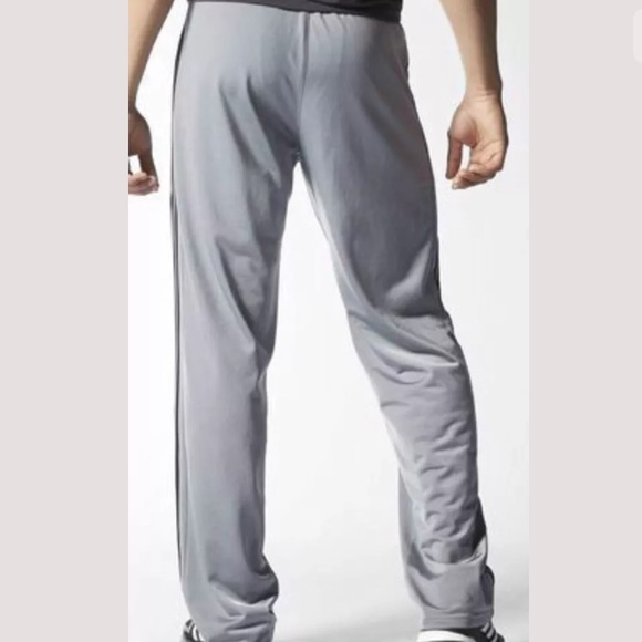 adidas men adidas track pants gray black white xxl 2x