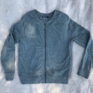 T Alexander Wang Zip Up  Sweater