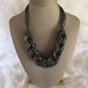 H&M Beaded Braid Necklace