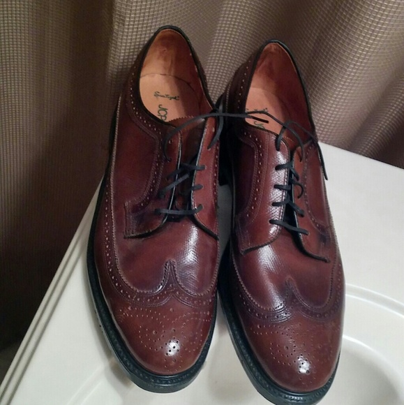 87e2e71555dc JC Penney Other - JC Penney Sanitized Brown Wingtip Shoes 12D