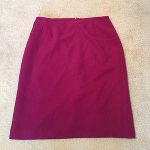 Dresses & Skirts - Fuchsia pencil skirt