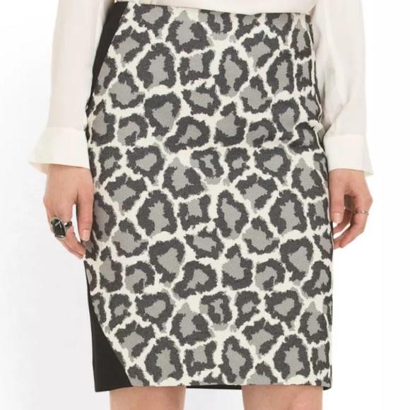 5397a8a10 Diane Von Furstenberg Dresses & Skirts - DVF Emma Pencil Skirt leopard  animal print size 8