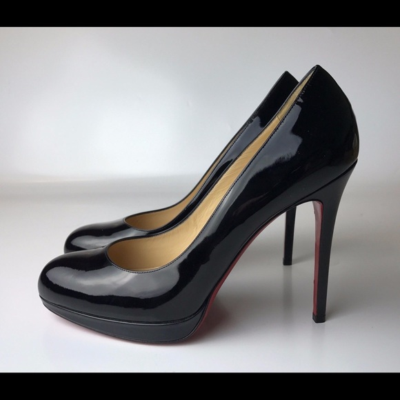 efc9ada8e7d Louboutin New Simple Pump 120 Black Pumps Euro 41