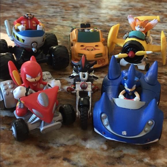 Other Sonic The Hedgehog Car Set6pcs Poshmark