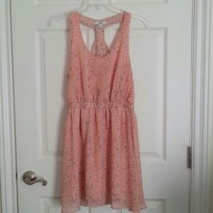 💛5/$20 SALE💛 Papaya Sun Dress Pink Floral Size L
