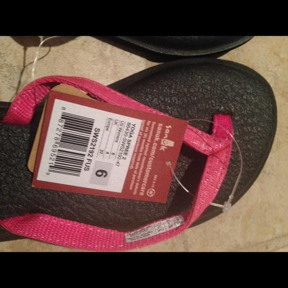 Sanuk Nwt Sanuk Yoga Mat Flip Flops From Stacey S Closet