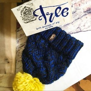 Cozy Hat FREE WITH PURCHASE OF ANY ITEM.