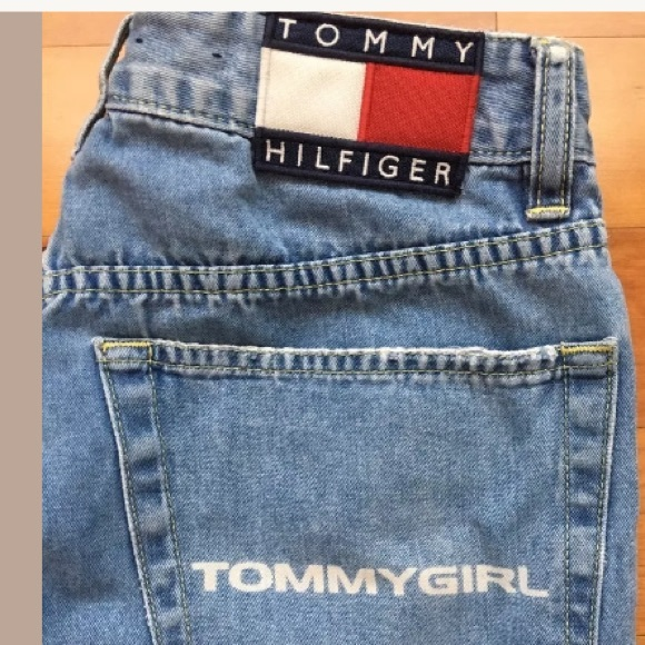 f4323d762 Vintage Tommy Hilfiger spell out jeans 7. M_595ee3b2b4188e60bc007ffa