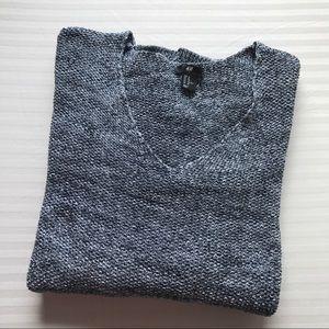 H&M Oversized V-Neck Sweater. Extra Large