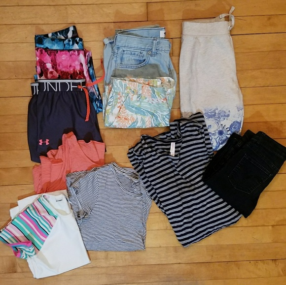 83 off justice other   girls size 10 12 14 10 item bundle lot from sarah s closet on poshmark