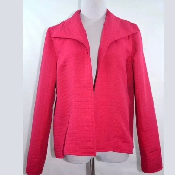 For Cynthia Jackets & Blazers - For Cynthia Quilted Jacket Open Front