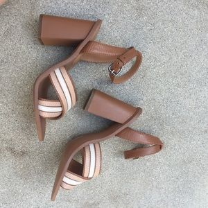Coach Shoes - Coach Strappy Sandal Block Heels
