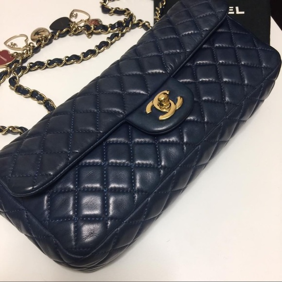 33% off CHANEL Handbags - CHANEL LIMITED EDITION VALENTINE ...