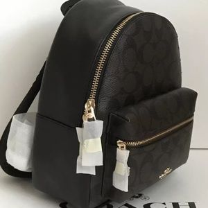 12aa371e76ad Coach Bags - NWT Coach Charlie Signature Backpack F58315