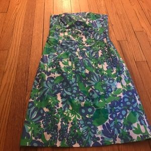 Blue and Green Lilly Pulitzer Franco Dress