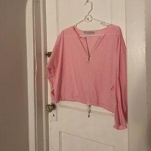 Pink Zara blouse
