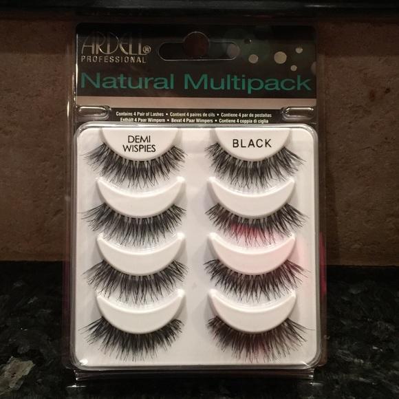 43440afa33b Ardell Makeup | Nwt Natural Multipack Demi Wispies | Poshmark