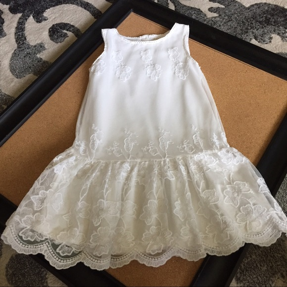 Toddler White Lace Dress