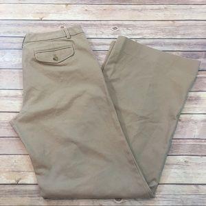 🍒Sz 10 Long Gap Favorite Trouser Wide Leg Pants