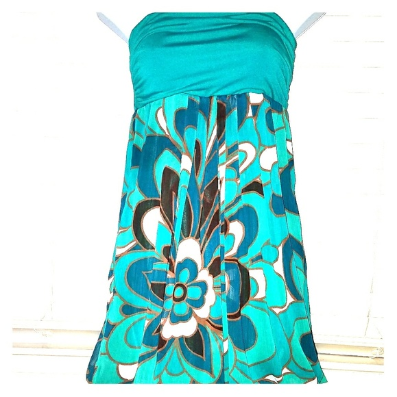 Forever 21 Dresses & Skirts - ❤*Turquoise Bubble Dress!*❤
