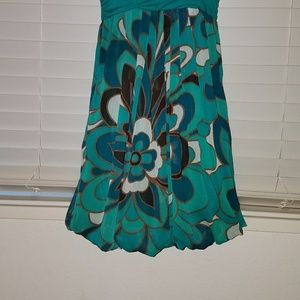 Forever 21 Dresses - ❤*Turquoise Bubble Dress!*❤