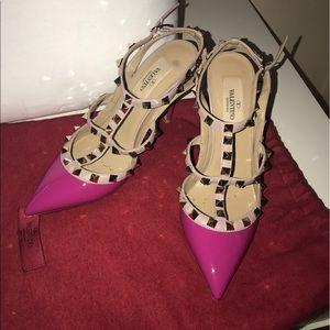 Valentino rock stud pumps
