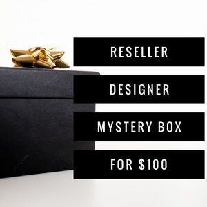 • Reseller DESIGNER Mystery Box for $100 •