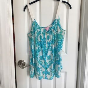 Lilly Pulitzer sleeveless blouse