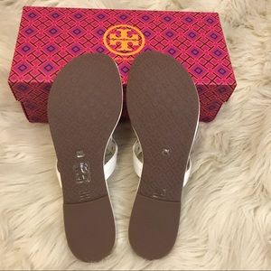 3c01cc0637dde Tory Burch Shoes - BNIB Tory Burch Miller Sandals in  bleach