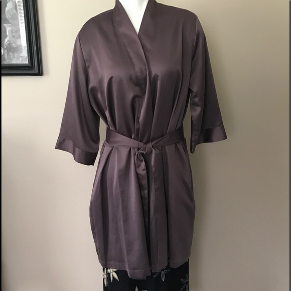 cabernet Other - Luxurious Purple Satin Robe cacd804cf