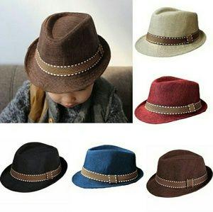 Other - Toddler Boy Fedora Hat RESTOCKED!