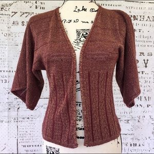 Lux {Urban Outfitters} open dolman sleeve cardi S