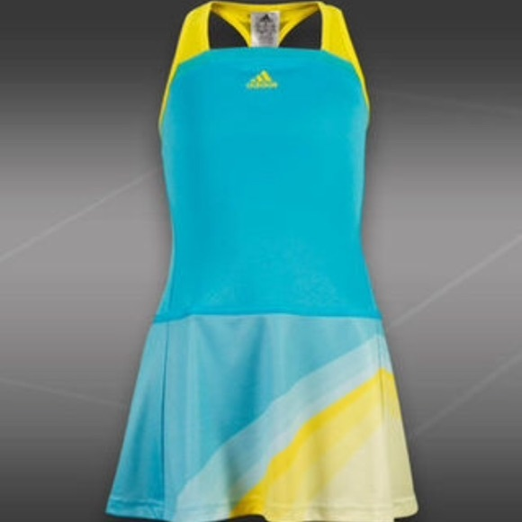 ad15ffc09b5e Girls Adidas tennis dress, Large, Adizero